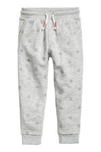 Sweatpants - Grey marl/Stars -  | H&M 2